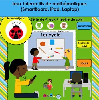 Activité TNI - Jeux interactifs de mathématiques/Les cocci