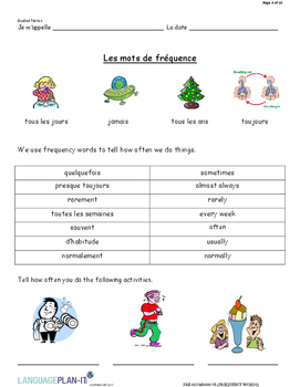 FREQUENCY WORDS (FRENCH 2017 EDITION)