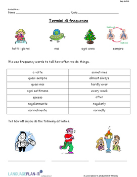 FREQUENCY WORDS (ITALIAN 2017 EDITION)