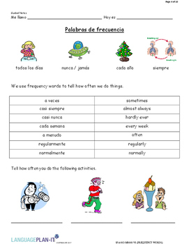 FREQUENCY WORDS (SPANISH 2017 EDITION)