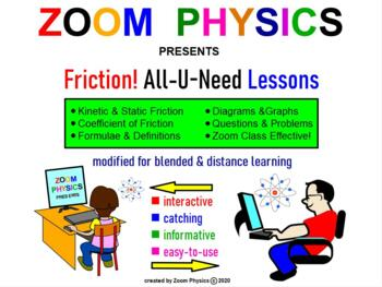FRICTION. MY PHYSICS LESSONS: Kinetic & Static Friction. R