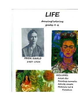 FRIDA KAHLO ART LESSON