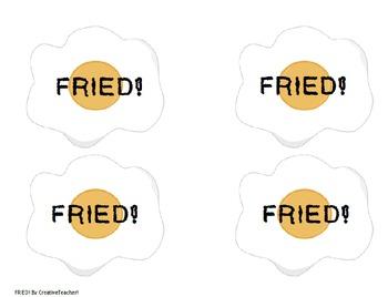 FRIED! Phonograms