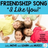 "Friendship Song and Game  ""I Like You"" Video & Mp3"