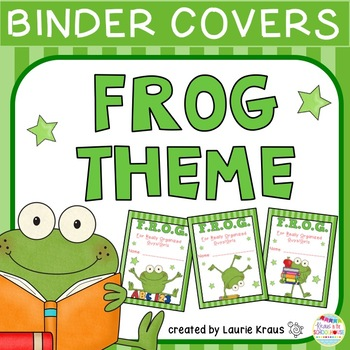 FROG Theme Binder Covers
