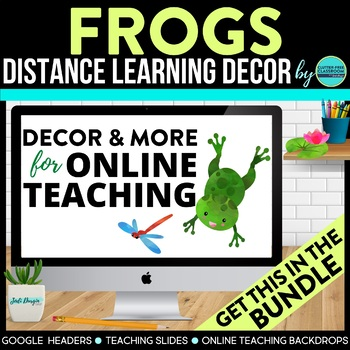 FROGS Classroom Theme Packet ~ Printables Decor and More