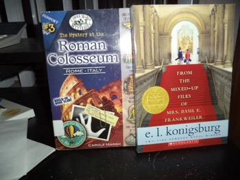 FROM MIXED UP FILES OF, ROMAN COLOSSEUM      SET OF 2