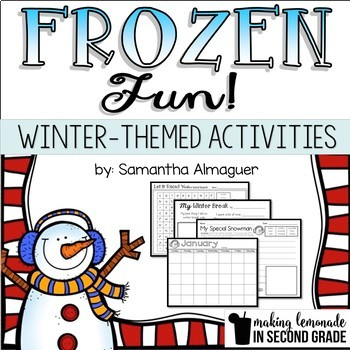Snow and Winter Themed Literacy Activities
