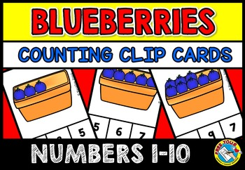 FRUIT THEME ACTIVITIES: KINDERGARTEN PRINTABLES: BLUEBERRI