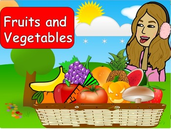 FRUITS AND VEGETABLES PPT GAME, PPT GAME, Memory game