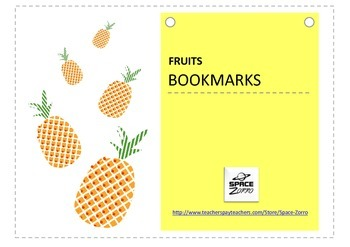 FRUITS Bookmarks ( Healthy Eating )