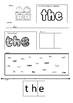 KINDERGARTEN GRADE 1 DAILY WORD WORK - 50 PAGES!