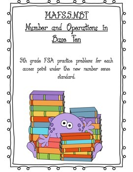 FSA 5th Grade Number Sense Practice Problems