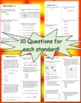 FSA / Common Core 227 TEST PREP QUES 5th Gr Math Bundle: A