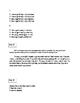 FSA ELA Test Daily Grammar Editing Tasks Practice Days 36-40