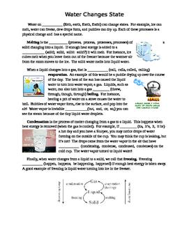 FSA Editing Task - Water Changing States