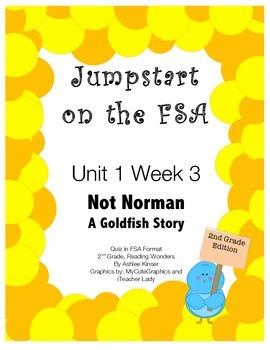 FSA Jumpstart- Second - Reading Wonders - Unit 1 Week 3 -