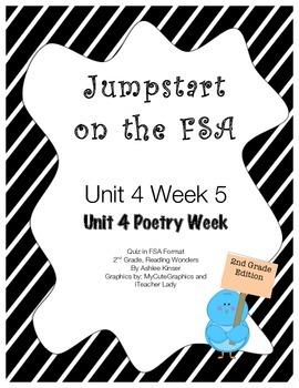 FSA Jumpstart- Second - Reading Wonders - Unit 4 Week 5 -
