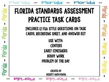 FSA Math Operations & Algebaric Thinking and Number & Base