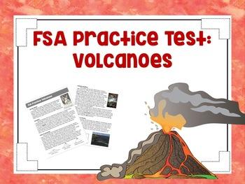 FSA Practice Test: Volcanoes