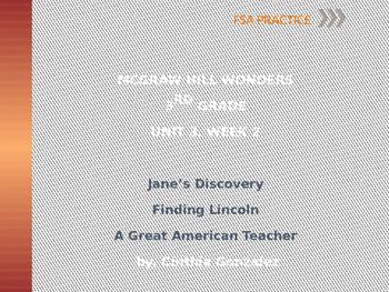 FSA Practice 3rd Grade - Reading Wonders Unit 3, Week 2