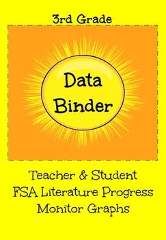 FSA Teacher & Student Progress Monitor Graphs (Literature)
