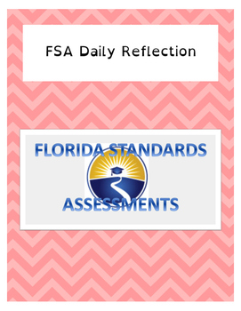 Standardized Test Daily Reflection