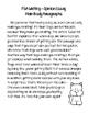 "FSA Writing...""Dog-gone Good"" Main Body Paragraphs (Opinio"
