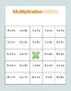 FUN 3rd Grade Single-Digit Multiplication BINGO