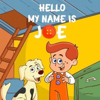 "FUN Music Song:  ""Hello My Name is Joe"" w/ VOCAL & KARAOKE"