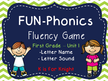 FUN-Phonics Unit 1 Fluency Game