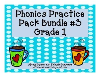 Grade 1 Phonics Bundle #3