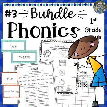 Phonics First Grade: Mega Bundle 3, Units 9-14