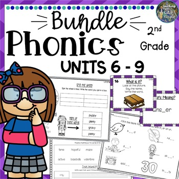 Phonics Level 2 Mega Bundle 3: Units 6-9