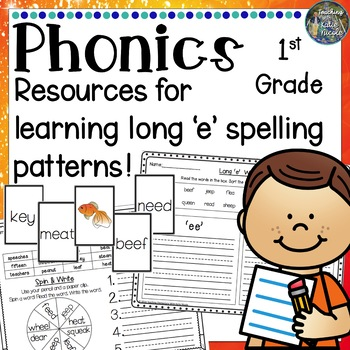 Resources for learning the 'ee', 'ea' and 'ey' spelling pattern!