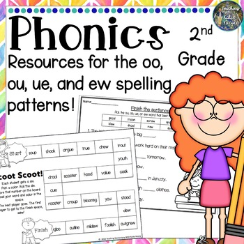 Resources for learning the long 'u' spelling patterns: ue,