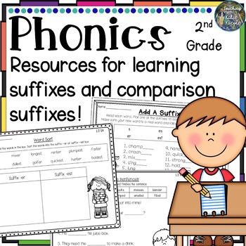 Level 2 Unit 4: Resources for suffixes: s, es, ed, ing & c