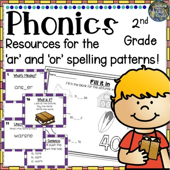 Level 2 Unit 8: Resources for learning 'ar' & 'or' r-contr