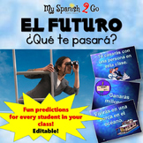 FUTURE TENSE:  Awesome Future PowerPoint in Spanish!  Editable!