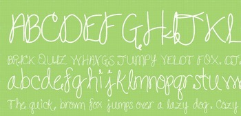 Fab Teacher Fonts: Loop-de-Loop (Commercial License Included)