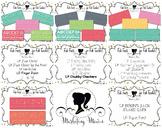 Fab Teacher Fonts MEGA BUNDLE: Sets 1-3 (17 Fonts & Commer