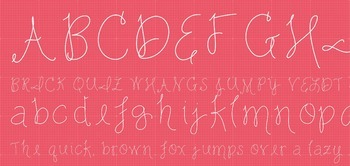 Fab Teacher Fonts: Sweetpea (Commercial License Included)