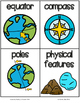 Fab Vocab {Map Skills} A Social Studies Vocabulary Unit