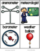 Fab Vocab {Weather Tools} A Science Vocabulary Unit
