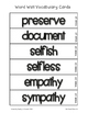Fab Vocab {Week 16} A Weekly Vocabulary Unit