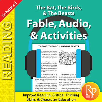 Fable, Audio, & Activities: The Bat, The Birds, & The Beas