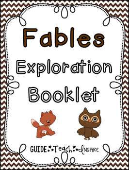 Fable Exploration Booklet