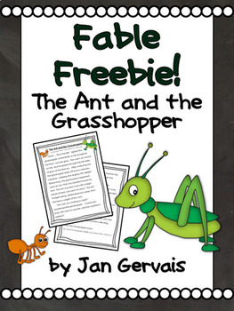 Fable Freebie: The Ant and the Grasshopper