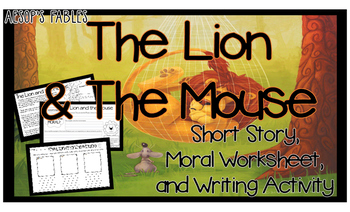 Fable Lion and the Mouse