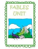 Fable Literature Unit